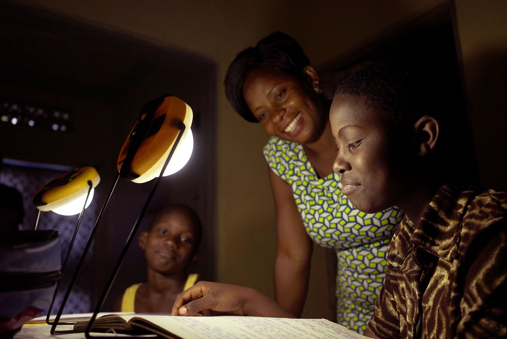 How solar lanterns are being used in Uganda
