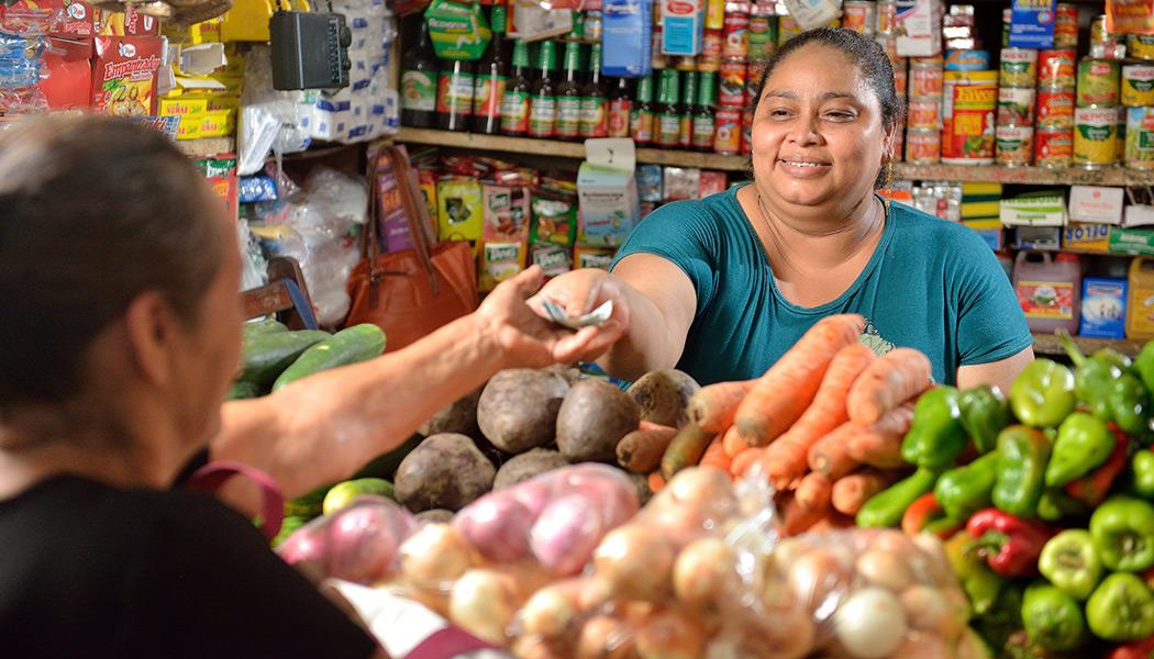Shop Owner in Nicaragua
